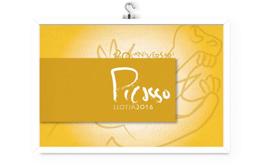 Diseño de poster para Picasso Llotja