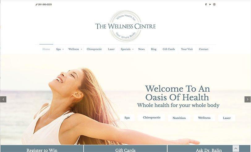 diseño portada spa o centro wellness